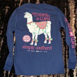 Simply southern long sleeve tee